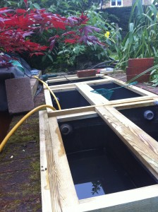 Bio balls filter system bio free engine image for user for Koi pond filtration system design